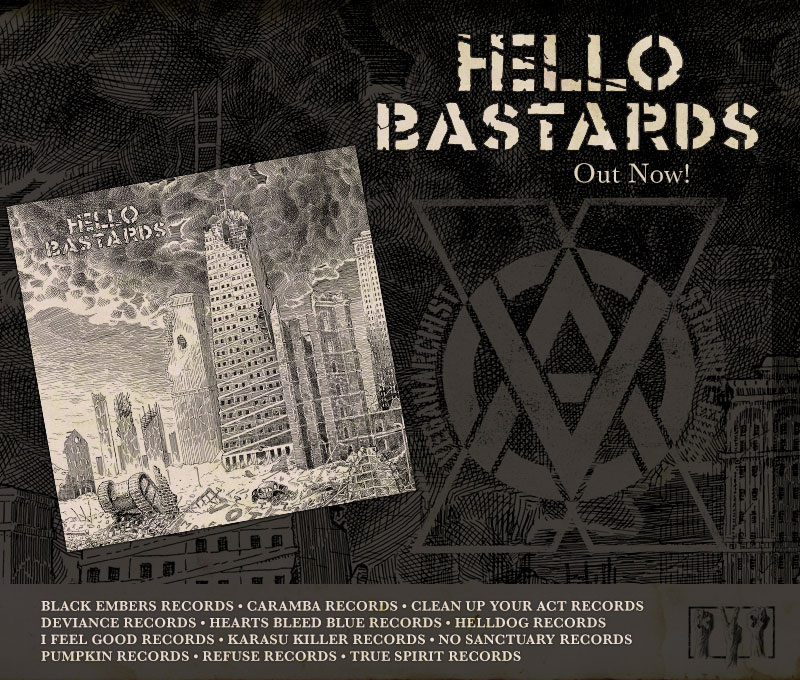 Hello Bastards LP Out Now