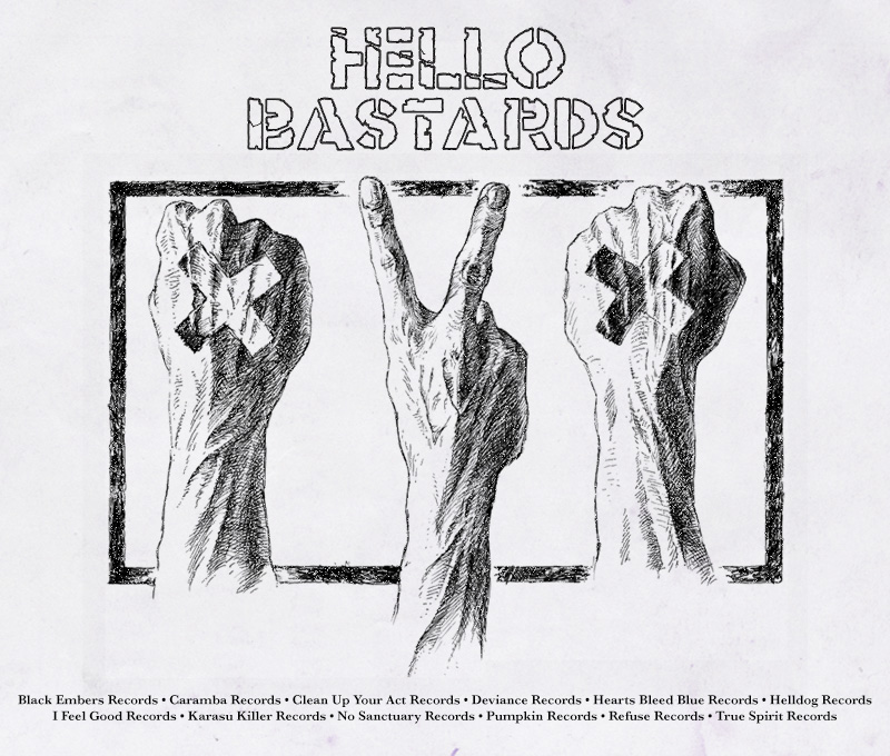 Hello Bastards LP Promo